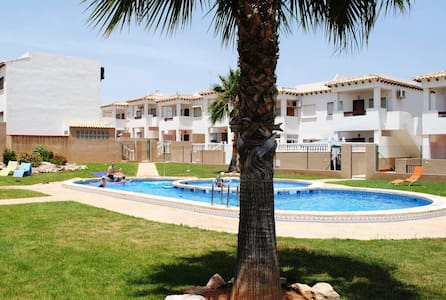 large terrace & lovely shared pool / 2 bedrm flat - Torrevieja