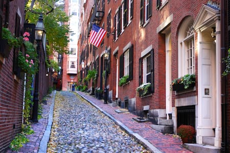 Lovely Historic Beacon Hill One Bedroom Apartment - Boston