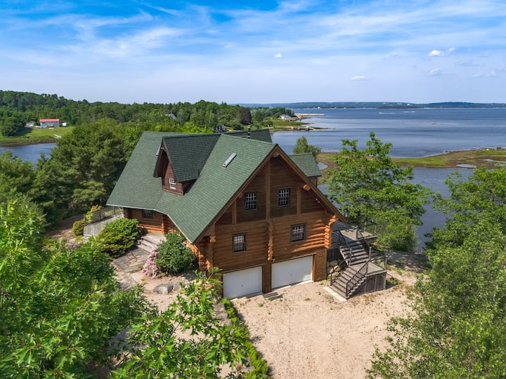 Alluring Chester Villa with Oak Island Views