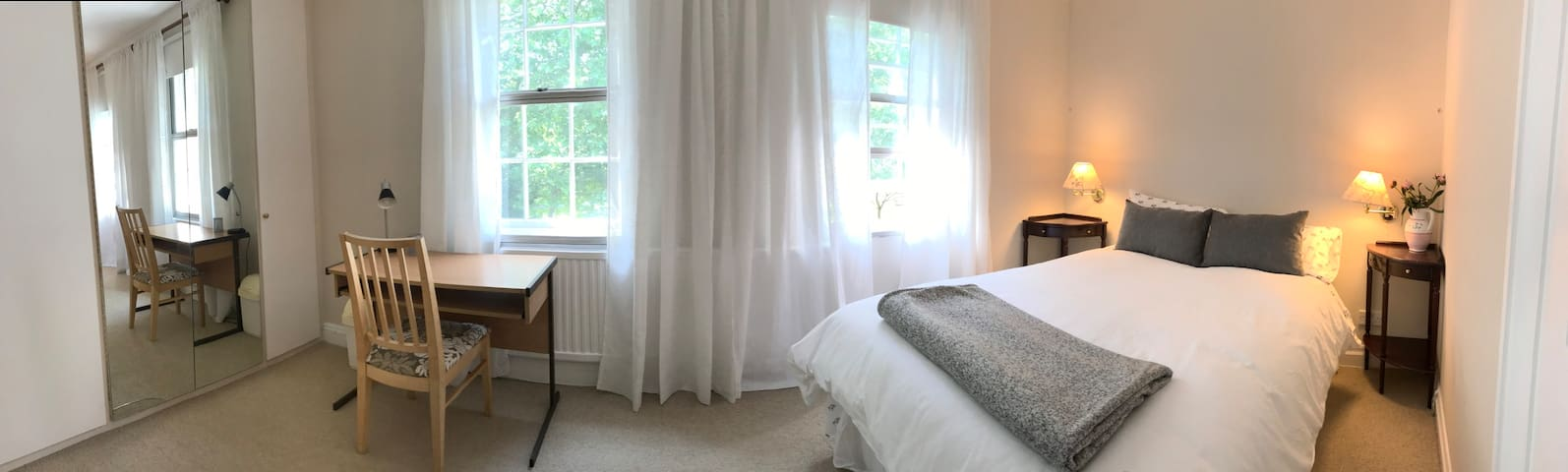 Bedroom 2 — Super views of the gardens