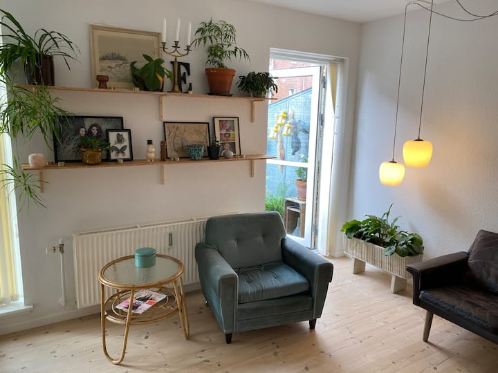 Bright and cozy apartment in Odense city centre