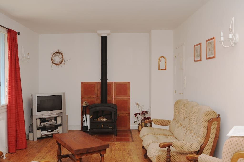 Lounge - With wood burner