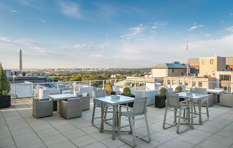 Luxury Studio next to White House! - Washington - Apartment