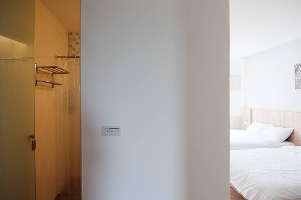 每個房間都是獨立衛浴