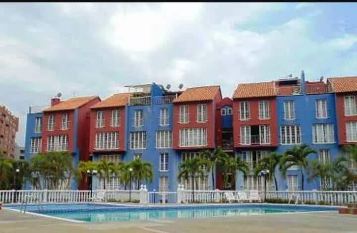 Lindo y cómodo Apartamento de playa.