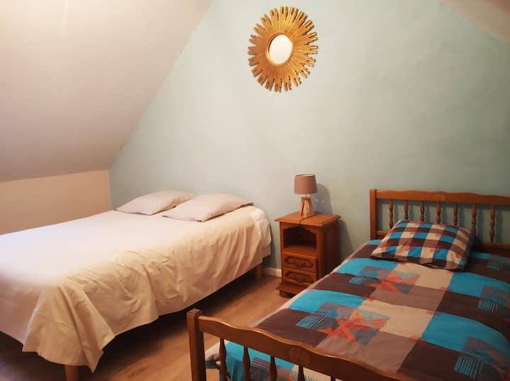 Suite familiale, 1 ou 2 chambres