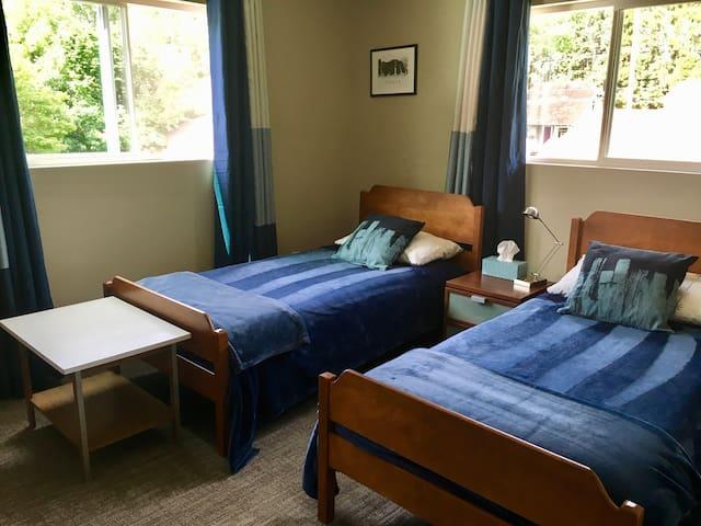 Quiet Master Bedroom in New Apartment