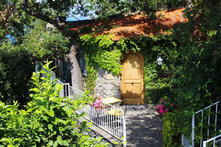 Villa izzo(LaccoAmeno)nel verde