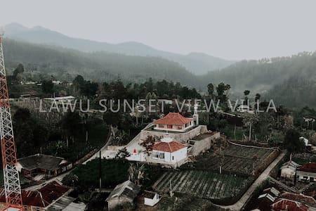 Lawu sunset view villa