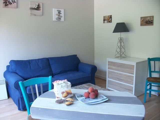 Studio en bord de mer à 30m de la plage - Moëlan-sur-Mer - Apartment