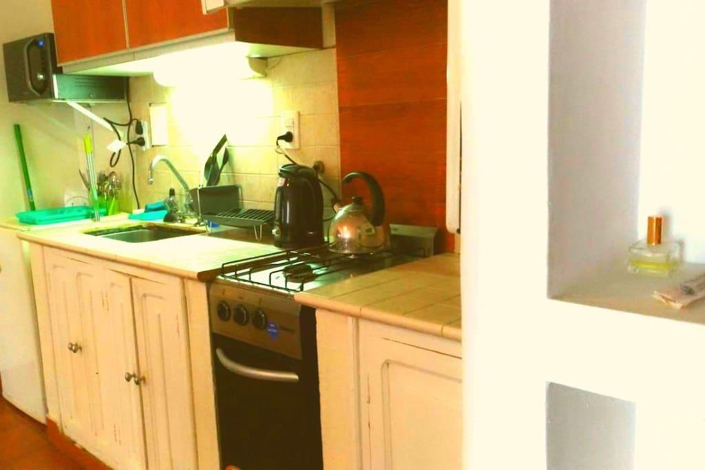Cocina equipada - full equiped kitchenette!