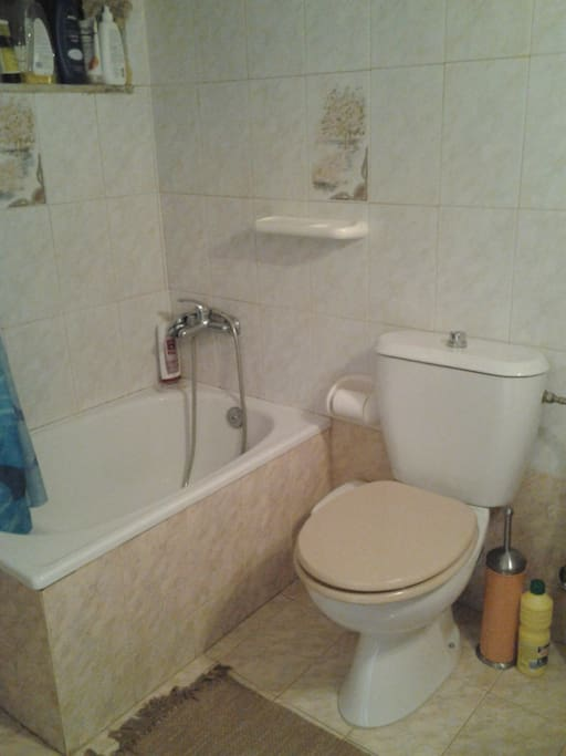 bathroom and toillete