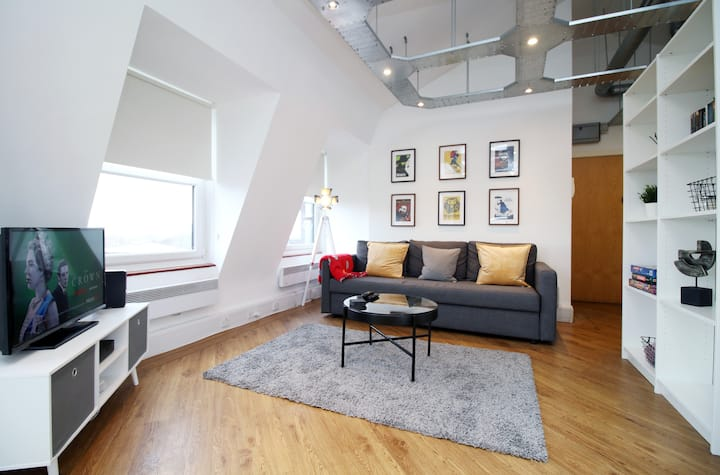 Modern Penthouse In Historic Cardiff Location
