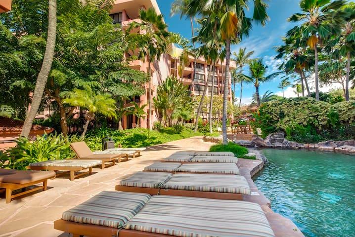 Kahana Falls Resort walk to beach great location