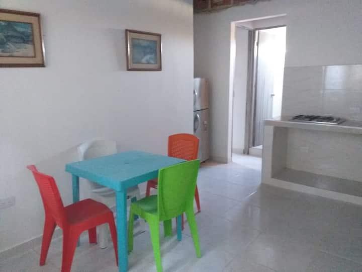 Apartamento en Minca, 2 Habitaciones.