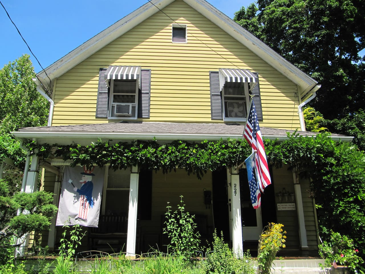 Historic Victorian in Quiet Residential Neighborhood near two major college campuses.
