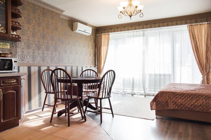 АП27д 19-Стильная квартира-студия в новострое