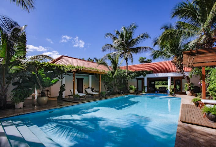 Casa de Campo Peaceful Villa, Golf View!