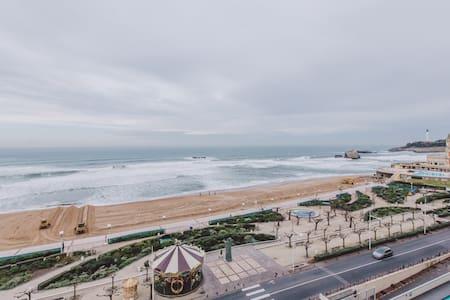 Studio grande plage vue mer - Biarritz