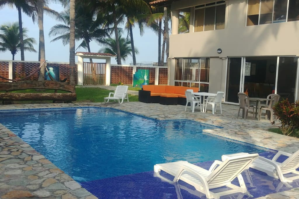 newly renovated Pool and patio