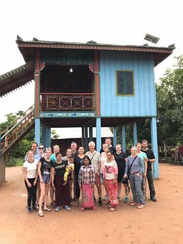 Chambok community  homestay