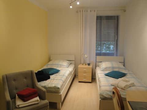 En suite room near Munich ICM exhibiton Centre