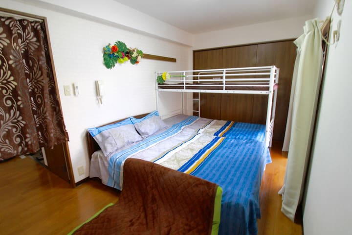 Perfect Location in Osaka【2mins walk from station】