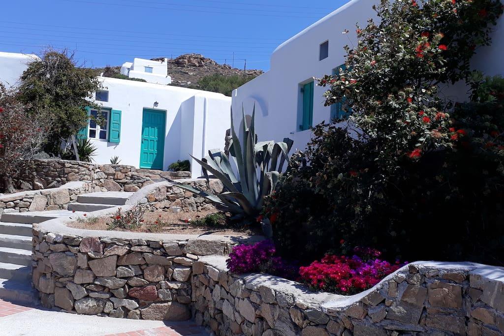 Barbara's house entrance