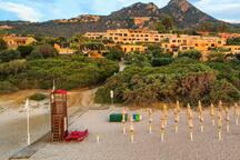 Appartamento Costa Rei Free Beach Residence con spiaggia privata.