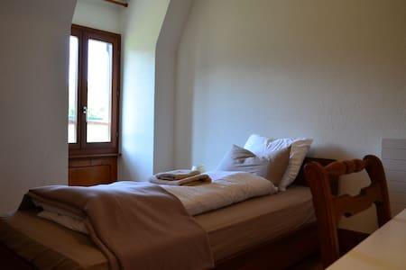 Lovely Single Room in Traditional Swiss Villa - Lavey-Morcles - Villa