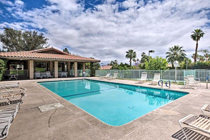 NEW! Palm Desert Condo w/Pool & Hot Tub Access!