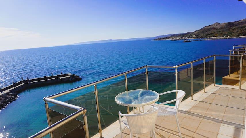 Sea view apartment on the beach White Lagoon