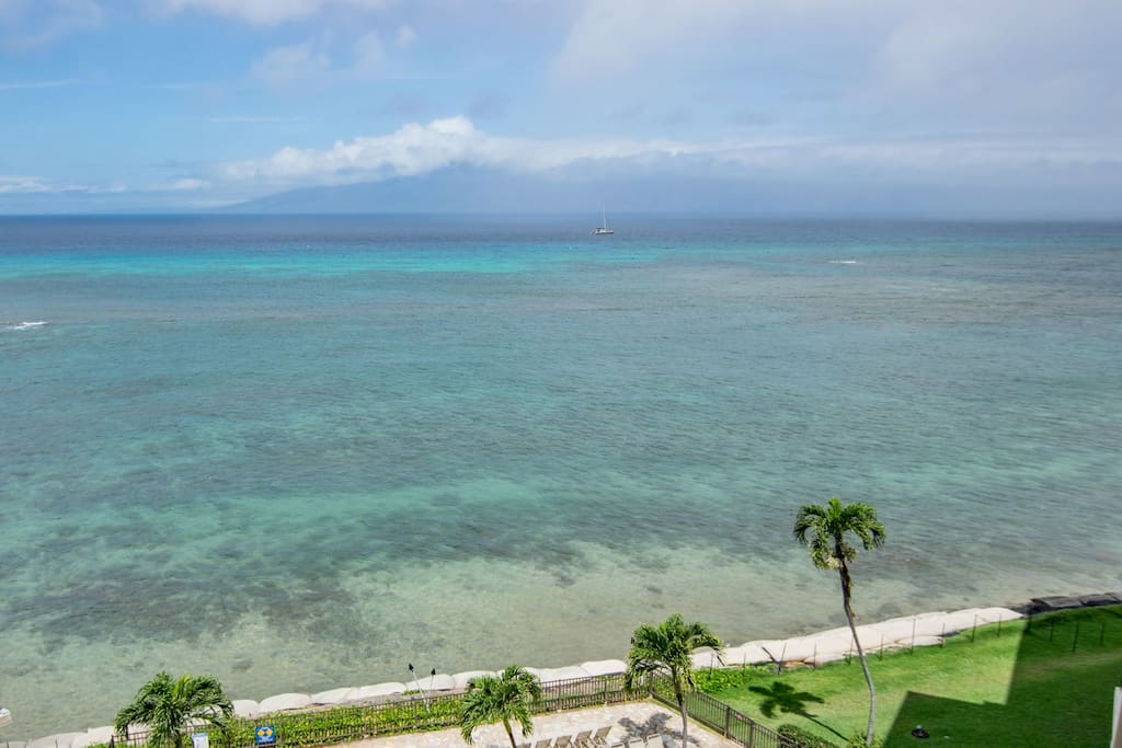 Beach access in front of resort is currently limited due to erosion. There is beach access at some of the neighboring resorts or at Pohaku Beach Park which is .3 miles away.
