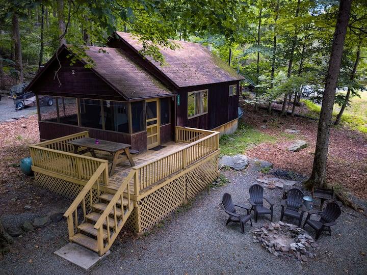 Clean/Cozy Cabin 2 Lakeside w/ Boat Dock