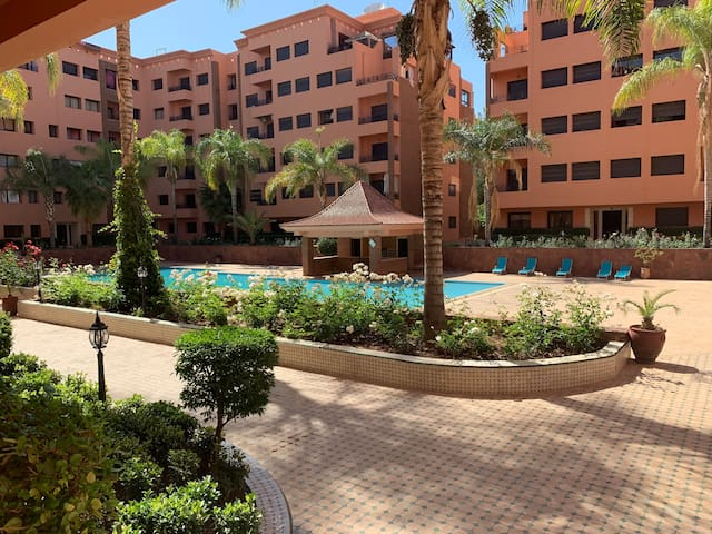 very nice apartment in the best area of ​​marakech