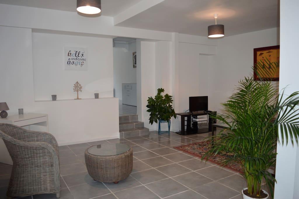 entrée salon