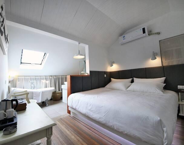 梦-捌号房,设计师设计,温馨独立的房间,近灵隐、北高峰 - หางโจว - วิลล่า
