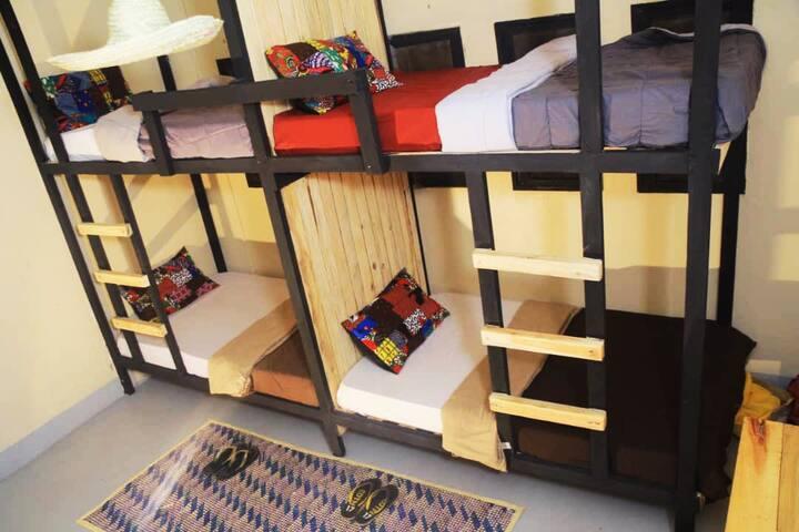 Mwanza Backpackers #Dorm 2