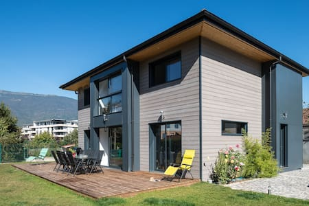 Contemporary Wooden  Timber frame House