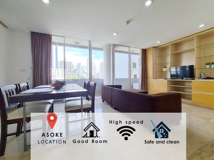 THE FILLED WITH WARMTH @ASOKE:2BR:2WC/BTS/POOL