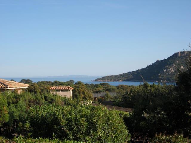 Sta Giulia, Villa  5/6 pers, vue mer, plage 400m - Porto-Vecchio - Ev