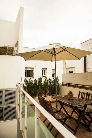 Apartment with Terrace, spacious and lots of light - Sevilla - Daire