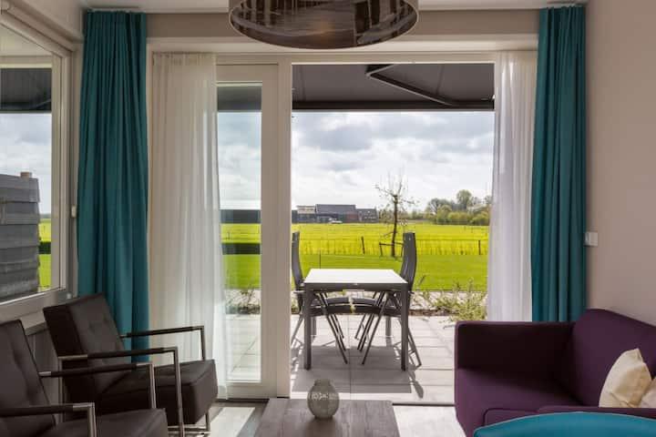Maison de vacances luxueuse avec sauna à Oostkapelle