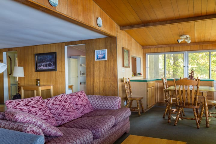 Cayuga East Shore Rustic Cottage wheelchair access - Ithaca - Ház