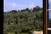 Villa nelle Colline Fiorentine immersa nel verde