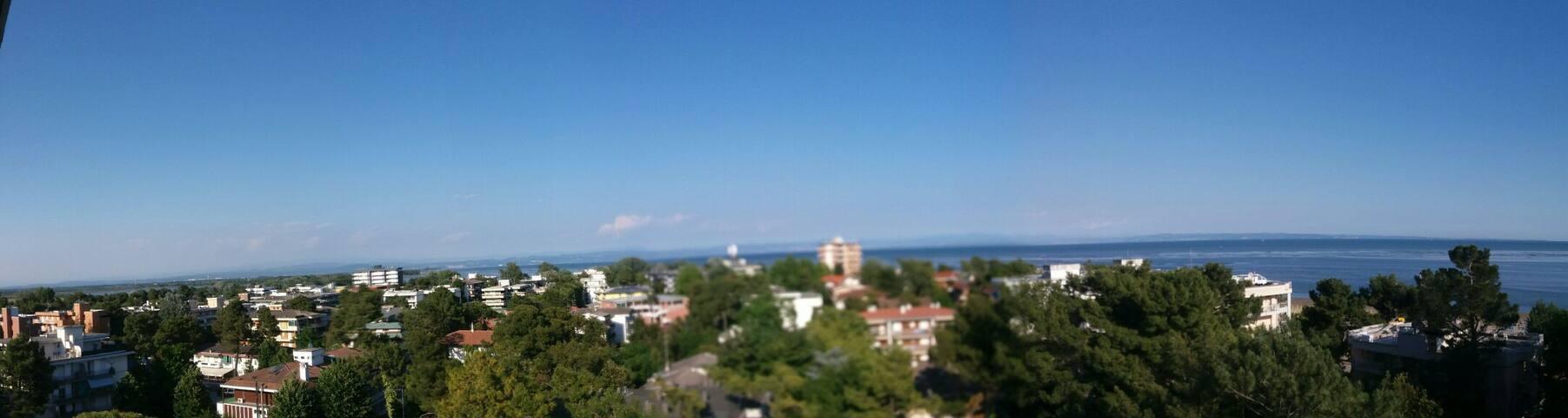 Appartamento a Grado con vista panoramica sul mare