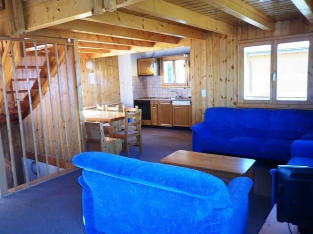 Superbe chalet 6 pièces 3* situé 2,5 km des pistes - Veysonnaz - Appartement