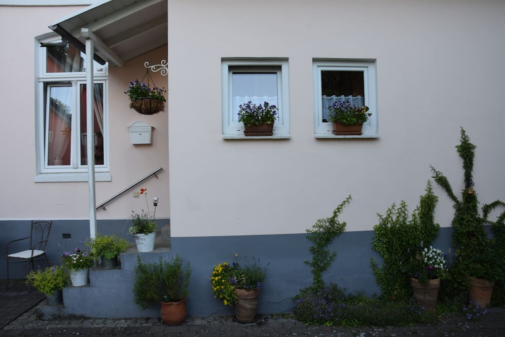 """Eingangsbereich """"Appartement Marina"""""""