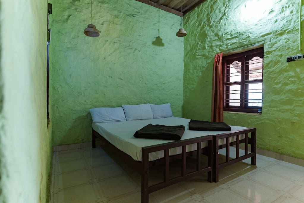 Rooms have basic amenities