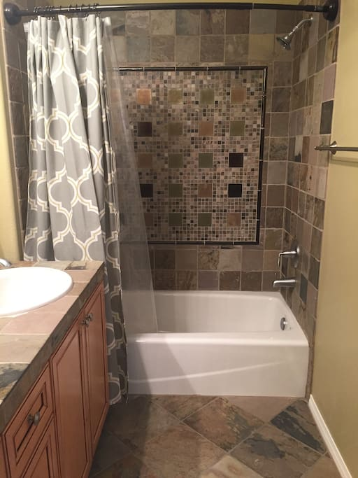 Shower that has great water pressure!